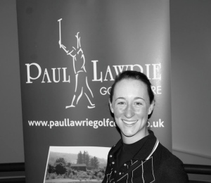 CHRISJE DE VRIES WINNER OF PAUL LAWRIE TOUR OPENER APR 2013